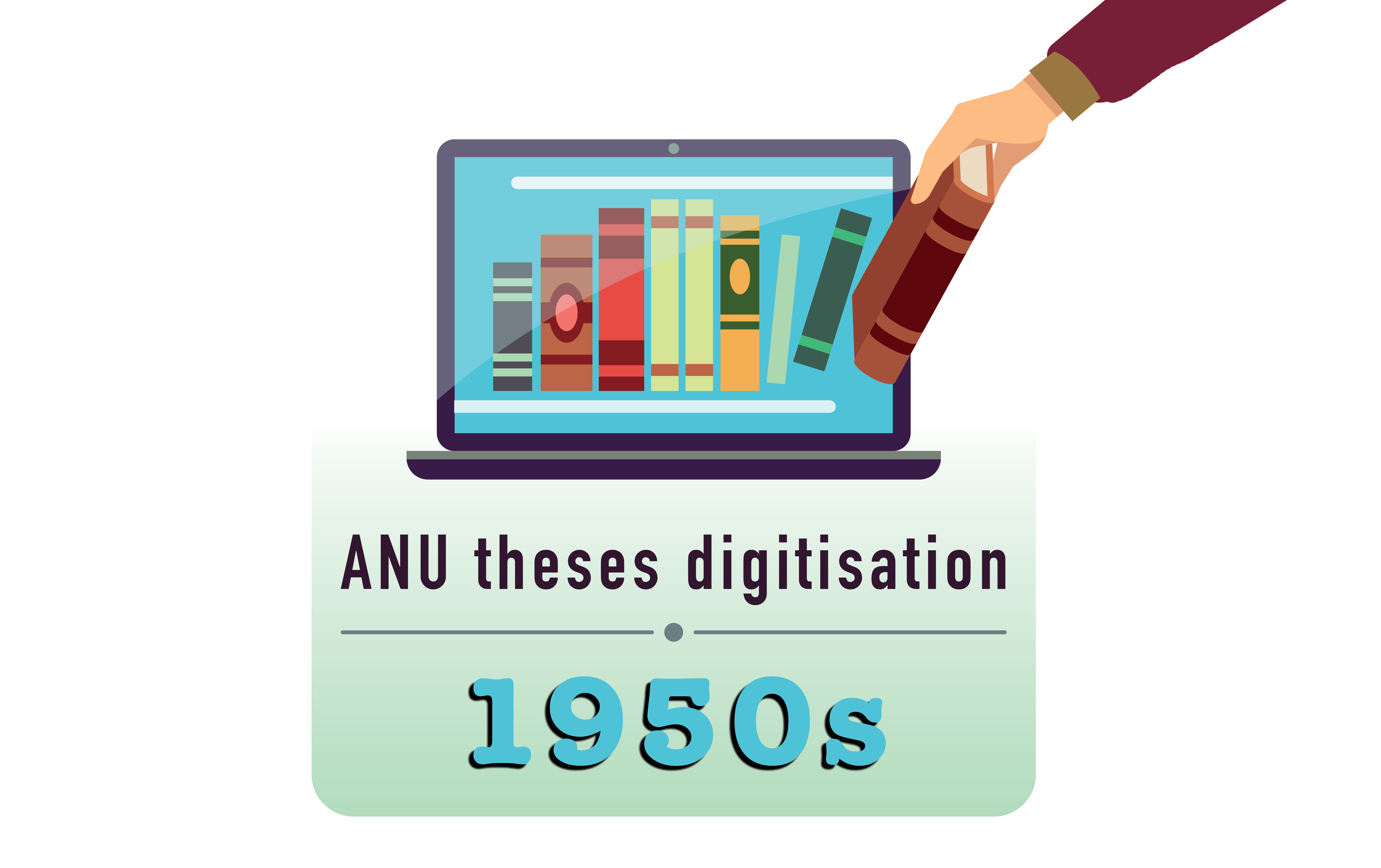 ANU theses digitisation - the 1950s