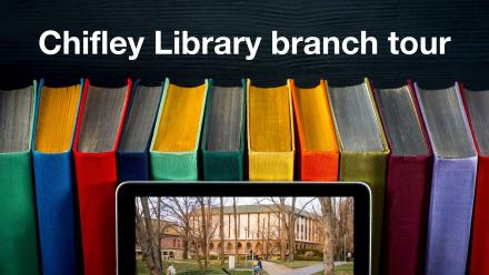 Chifley Library branch tour