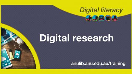 Digital literacy training - Digital research