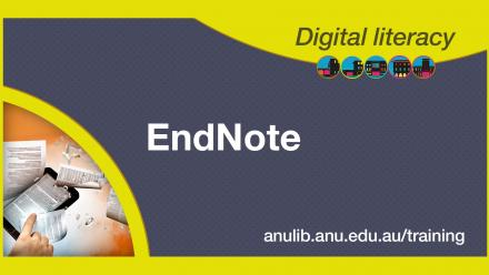 Digital literacy training - EndNote