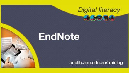 Digital Literacy Training: EndNote