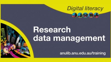 Digital Literacy Training: Research data management