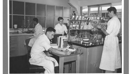 The John Curtin School of Medical Research: Department of Biochemistry