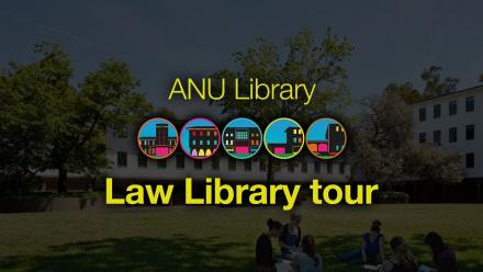 ANU Library tour - Law