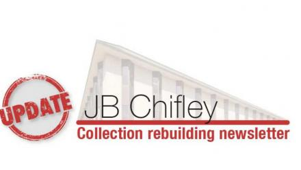 Chifley Library collection rebuilding newsletter