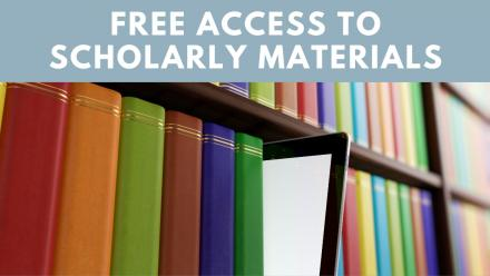 free access to scholarly materials