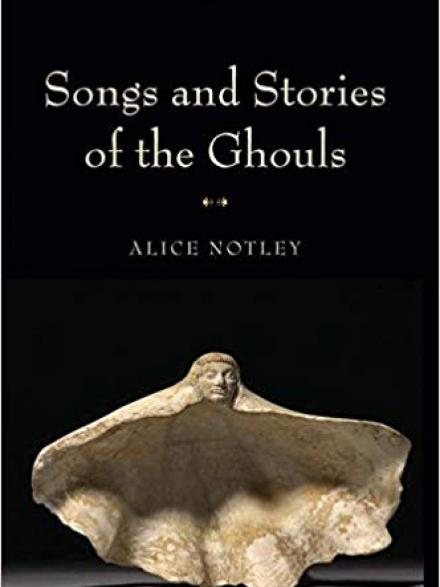 book cover: Songs and stories of the ghouls
