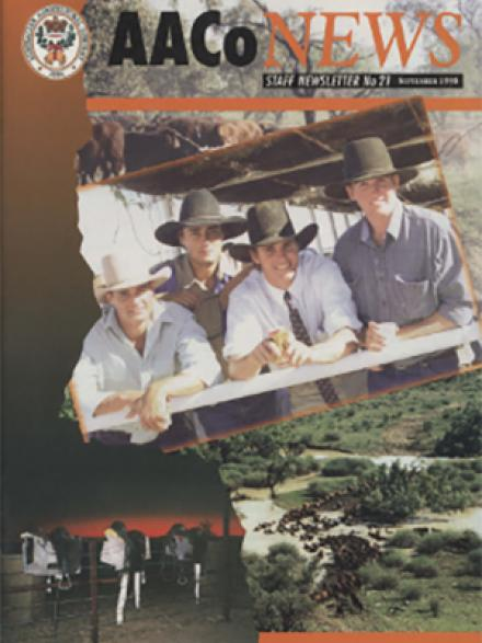Australian Agricultural Company staff news