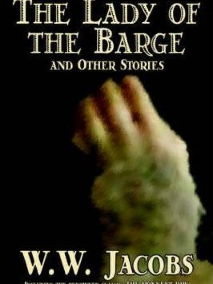 book cover: The lady of the barge
