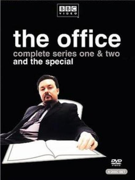 The Office (British version) : complete series DVD cover