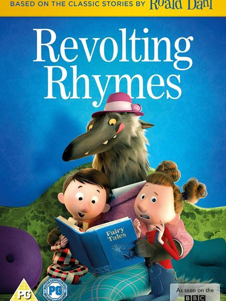 Revolting rhymes DVD case