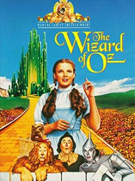 The Wizard of Oz movie cover