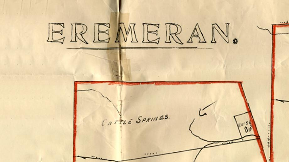 Eremeran sheep station map