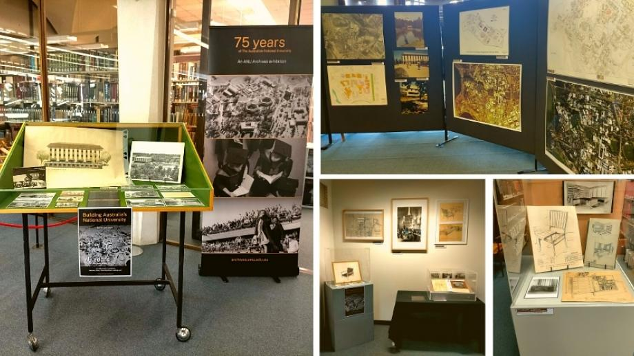 Images of the ANU Archives Display