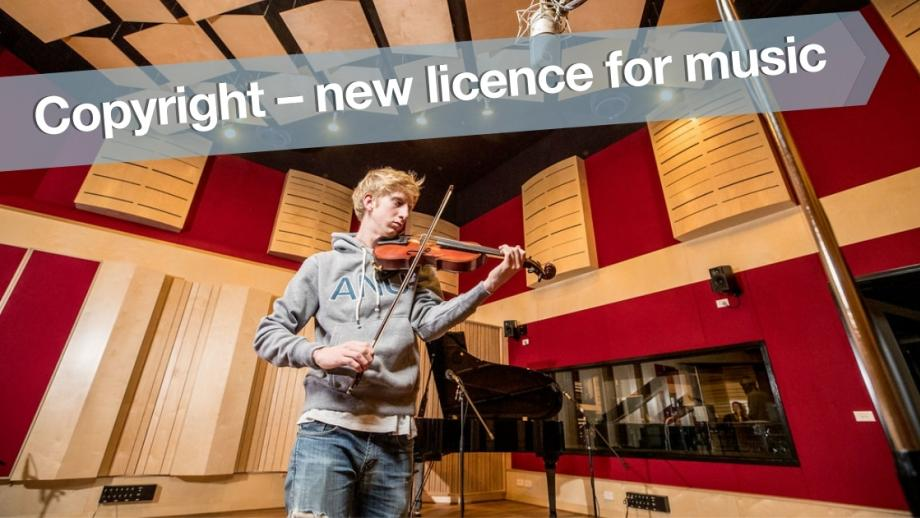 Copyright - new licence for music