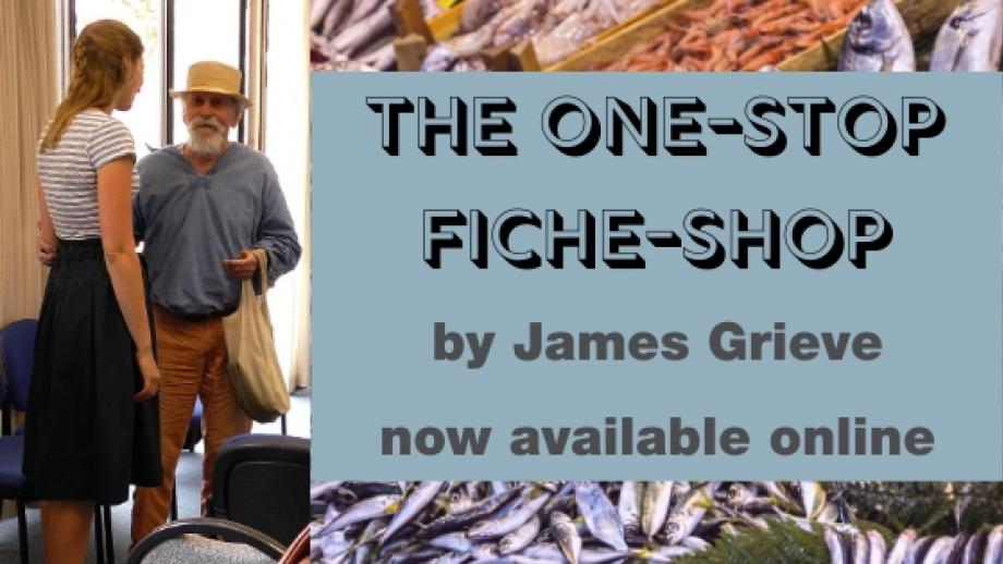 The One-Stop Fiche-Shop by James Grieve - now available online